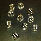 12mm Gem Spot Dice - Smoke
